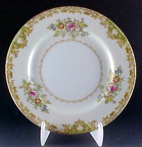 Tuillerie Fine Vintage China Bread & Butter Plate