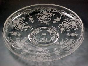 Romance of Vintage Glassware – Fostoria Romance Etched Crystal