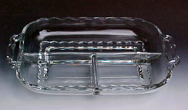 Viking Glass Princess Crystal Relish
