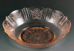 American Sweetheart Pretty in Pink MacBeth Evans Depression Glass