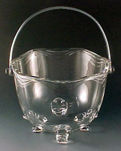 Fostoria Glass Coronet Crystal Ice Bucket