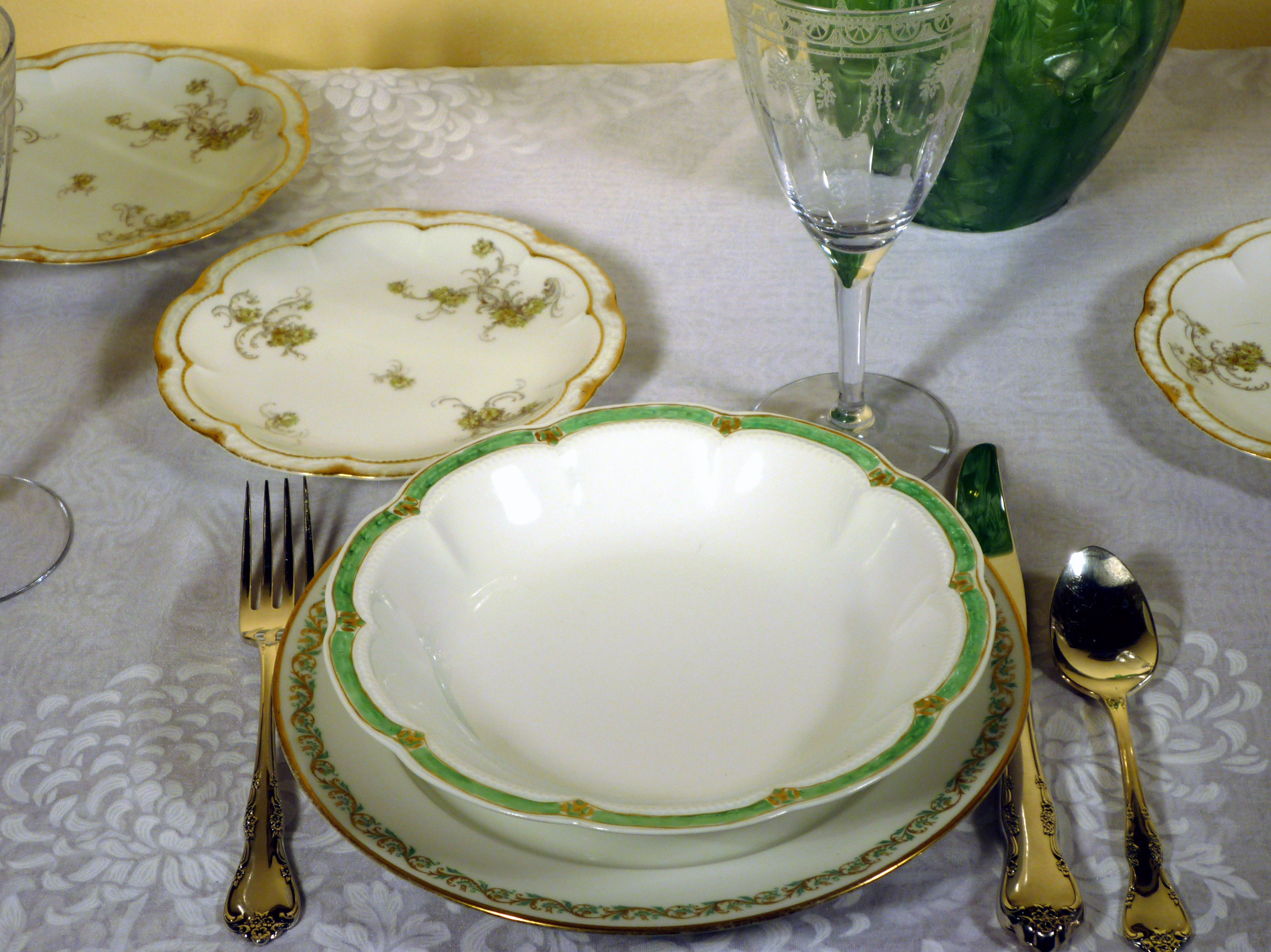 Haviland Limoges China Place Setting
