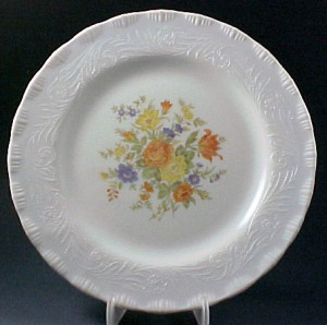 Chinex Classic Bouquet Dinner Plate Dep