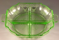 Lorain Green Depression Glass