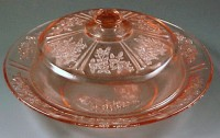 Sharon Cabbage Rose Depression Glass