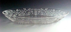 Viking Glass Sonata Etched Crystal Celery