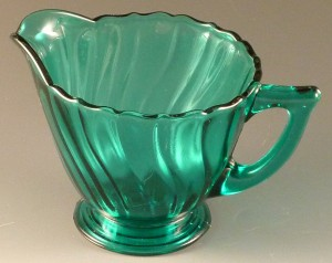 Spirals and Swirls – Jeannette Swirl Depression Glass