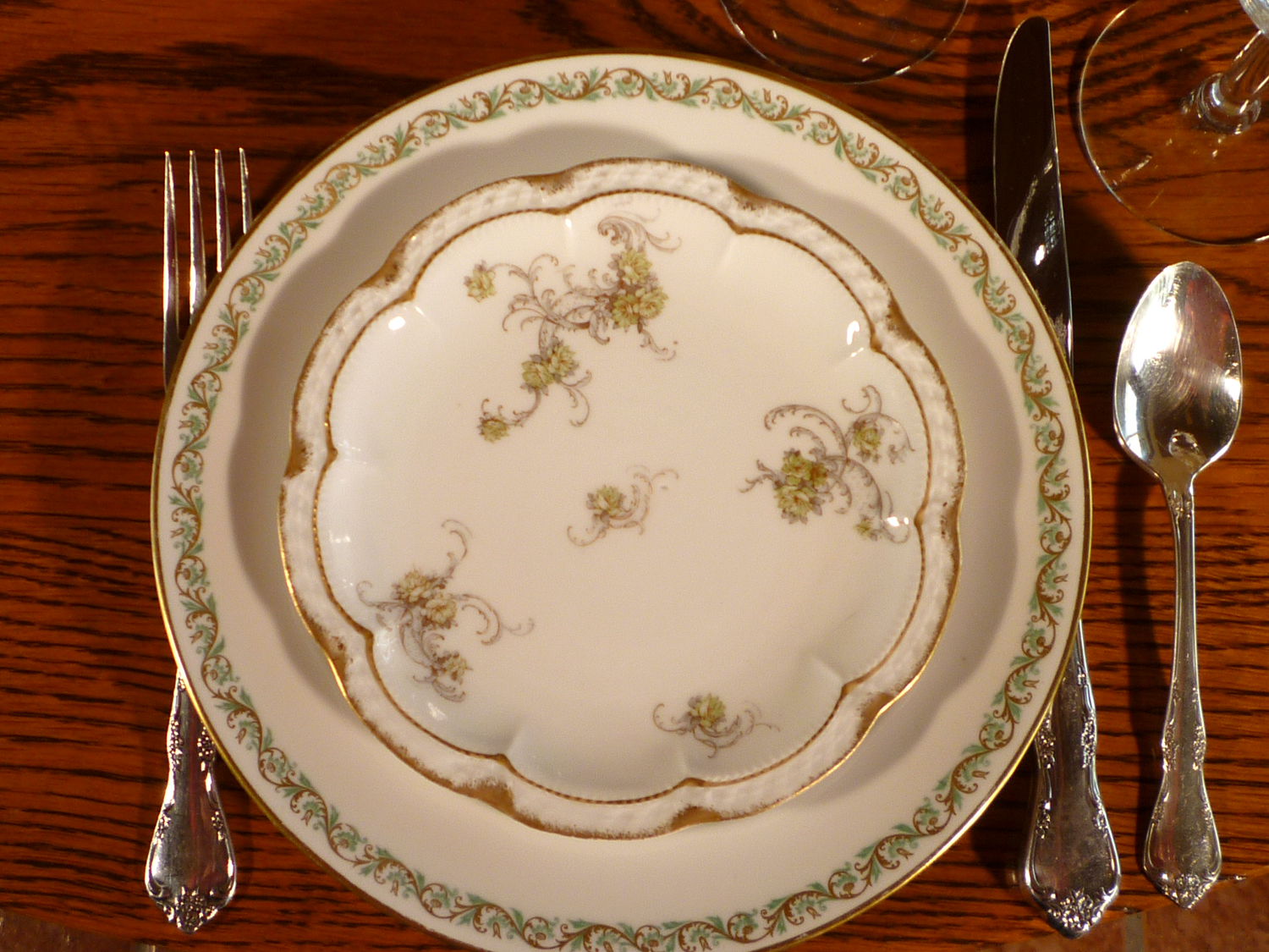 Haviland Limoges Fine China Dinnerware Vintage
