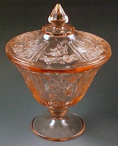 Sharon Pink Depression Glass – Roses and More Roses