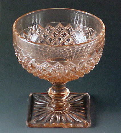 Miss America Pink Depression Glass Sherbet