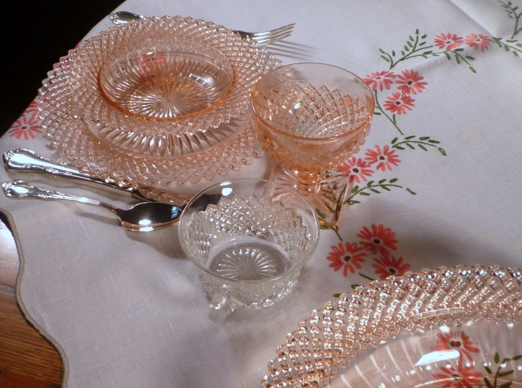 Miss America Pink Depression Glass