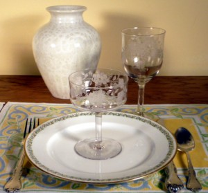 Can You Mix Elegant Glass with Limoges China?