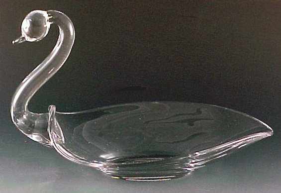 Duncan Miller Pall Mall Crystal Swan