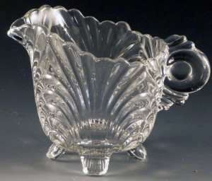 Cambridge Caprice Clear Footed Creamer