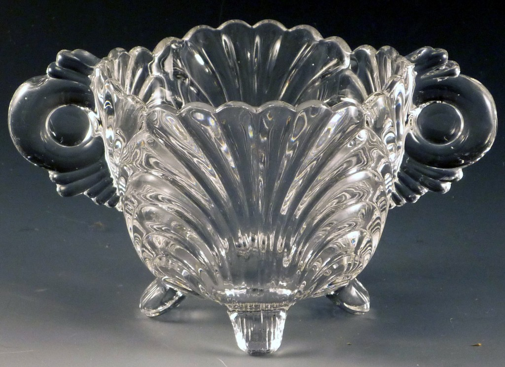 Cambridge Glass Caprice Pressed Crystal Sugar Bowl