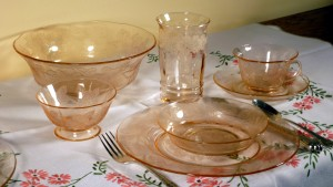 Readers' Choice!  What's Your Favorite Pink Depression Glass Tablescape?