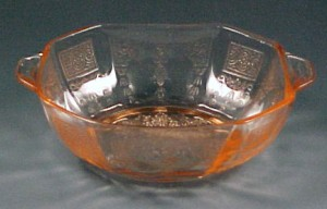 Berries Anyone?  Princess Pink Depression Glass Bowl