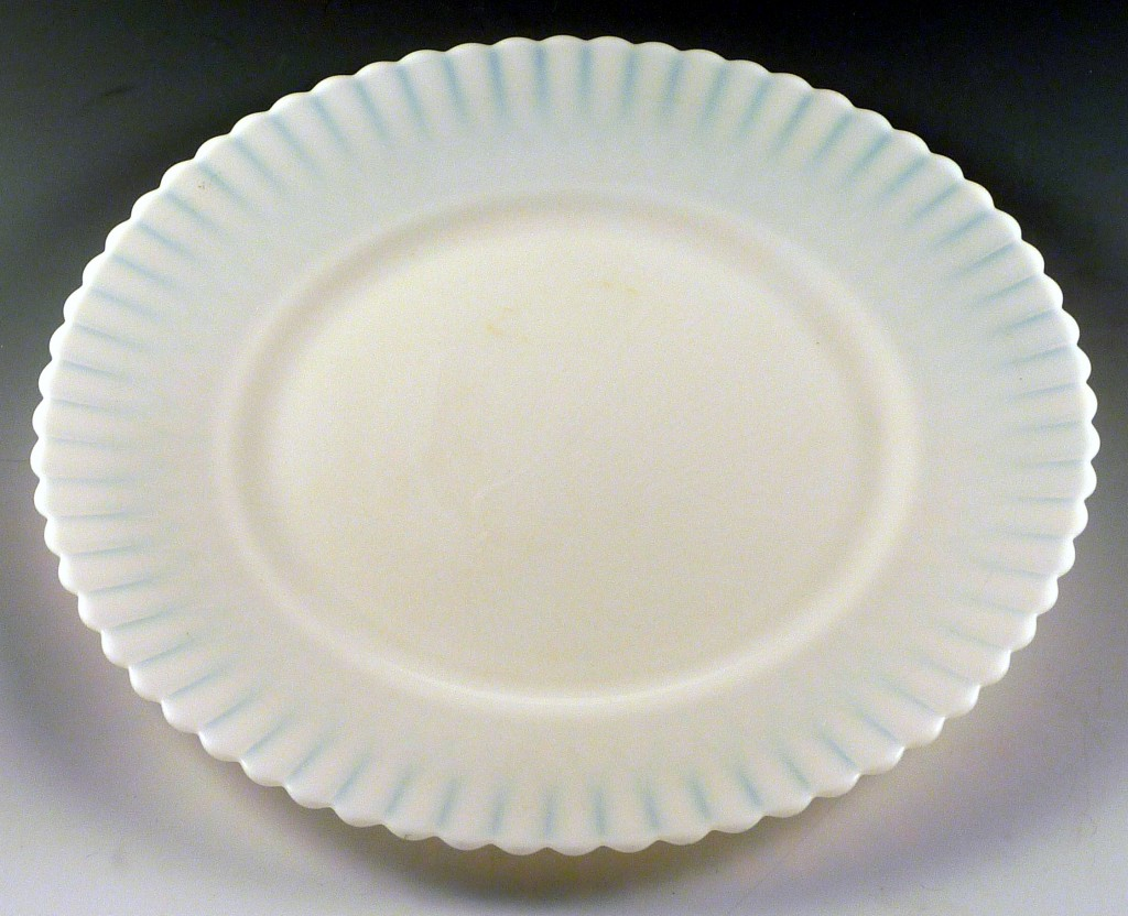Petalware Monax Depression Glass Lunch Plate