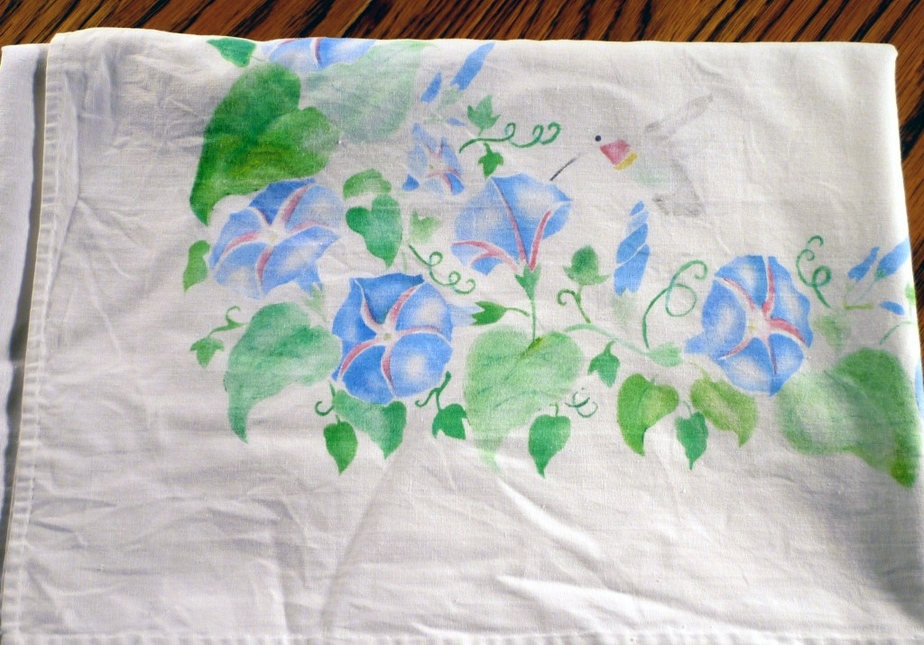 Morning Glory Tablecloth