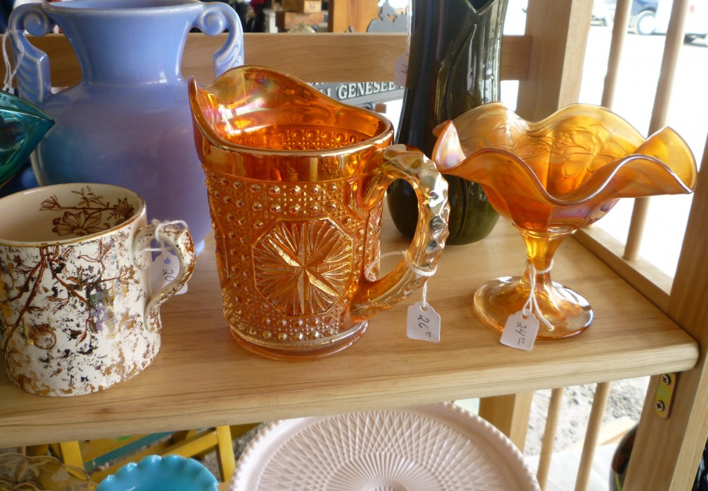 Imperial Amelia Pitcher at Ann Arbor Antiques Fair