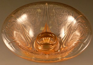Royal Lace Pink Depression Glass – Candle Light in Rose