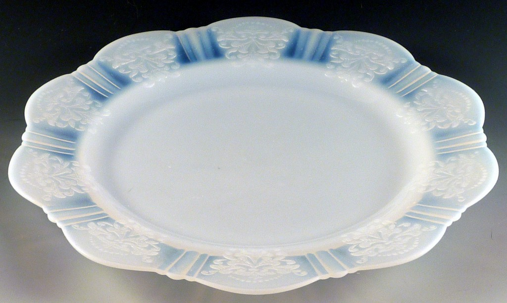 American Sweetheart Monax 9 3/4 Inch Dinner Plate Border Only