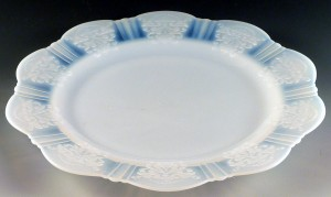American Sweetheart Depression Glass Plates Galore