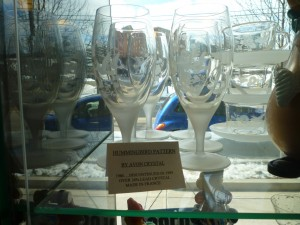 Crystal, Decagon and a Nifty Clock – Antiquing Together in Downtown Kalamazoo
