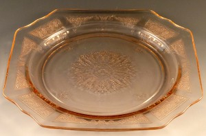 Princess Pink Depression Glass from Hocking – Cinderella No More