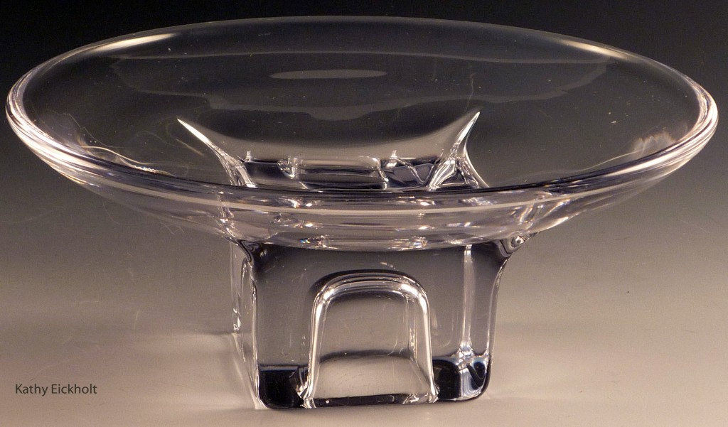 Cambridge Square Crystal Compote Glass Comport