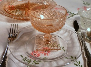 Simple and Elegant!  Add Good Looks with Elegant Crystal Plates