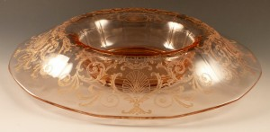 Time For Something Lovely – Fostoria Versailles Pink Console Bowl – Glass Pick of the Week