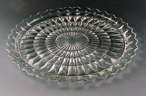 Serve Your Cake In Style Vintage Glass Cake Plates In
