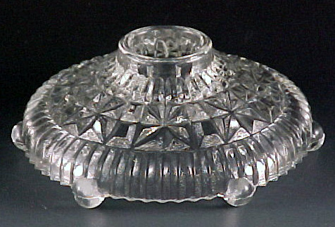 Thousand Lines Crystal Candle Holder
