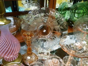 More Eye Candy!  Memories of the Depression Glass Show