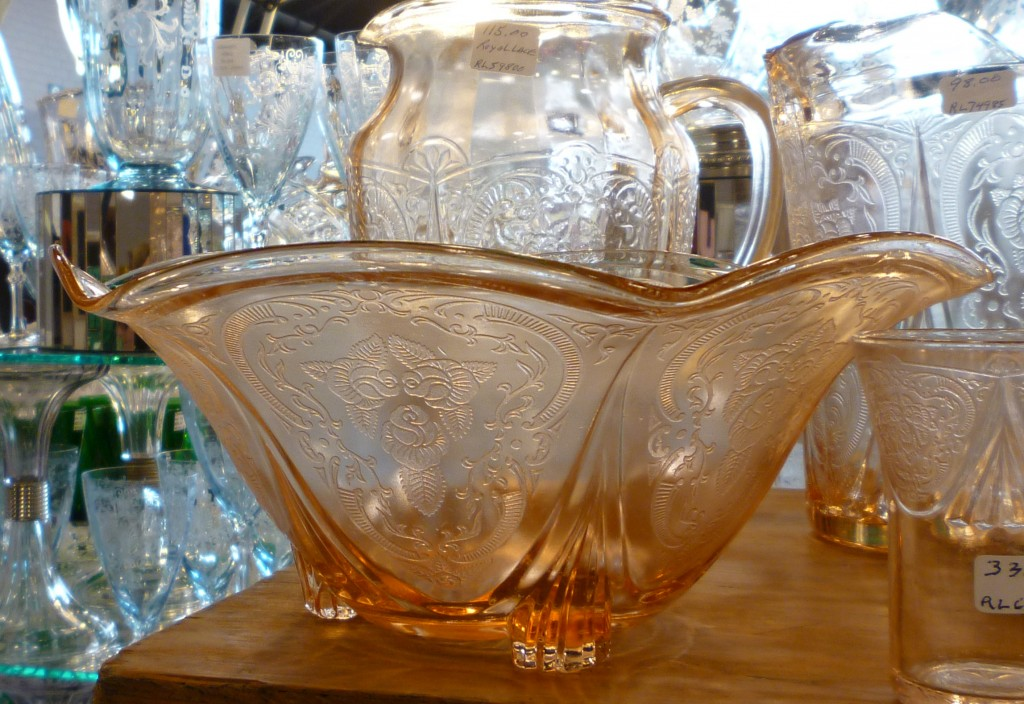 Royal Lace Pink Depression Glass