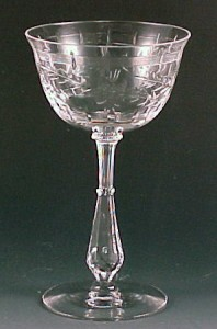 Identifying Tiffin Glass Stemware – Sometimes You Just Can't