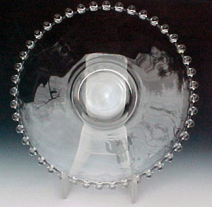 Imperial Candlewick Crystal Plates – Elegant Glass