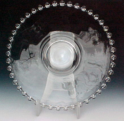 Candlewick Crystal Liner Plate