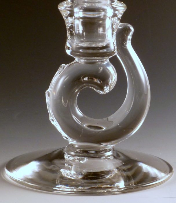 Fostoria Century Crystal Single Candle Holder