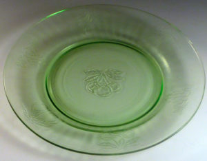 Hazel Atlas Fruits Depression Glass Pattern and a Mystery Piece