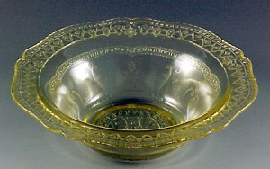 Puzzling Sizes and Shapes in Depression Glass – Cereal Bowls