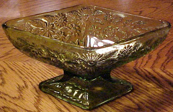 Pineapple and Floral Glass Pattern – From Depression Era ...