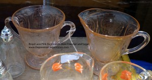 Popular and Rainbow Colors – Royal Lace Depression Glass