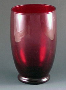 Royal Ruby Red Glass for the Holidays