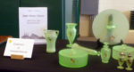 Parrots Galore!  Tiffin Jungle at the National Depression Glass Show