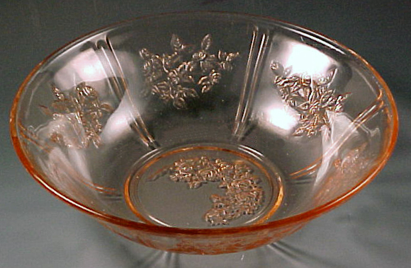 Pink Saturday - Sharon Roses All Over Pink Depression Glass