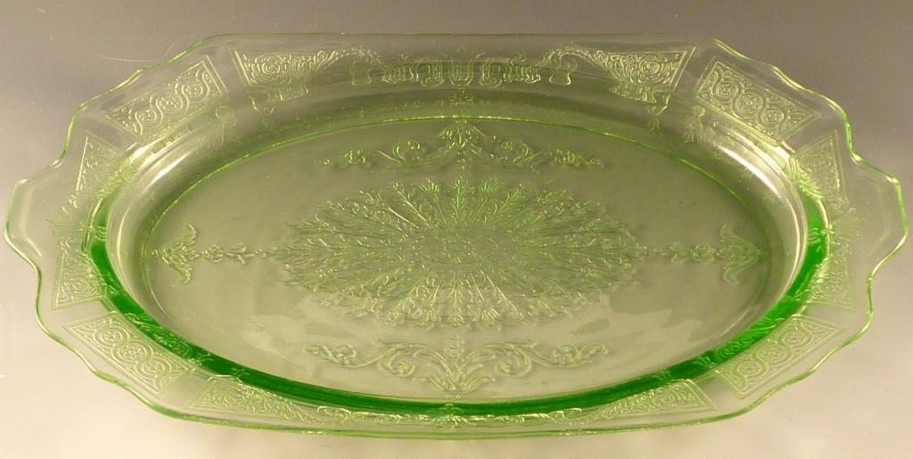 Clear Glass Platter
