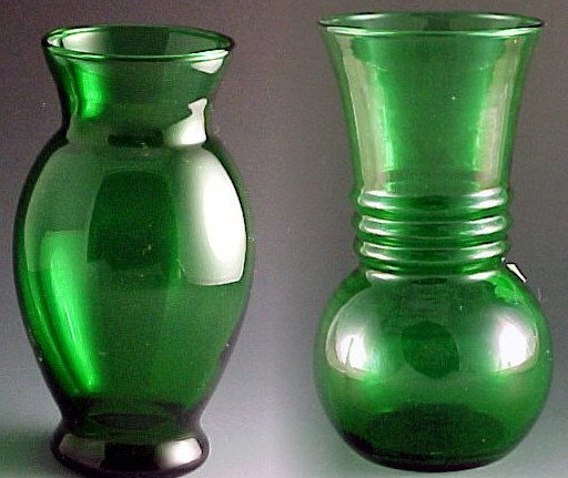 Forest Green Vintage Glass For The Holidays