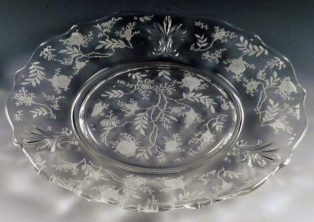 Antique Glass Plates